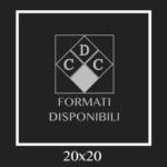 FORMATO : 20×20