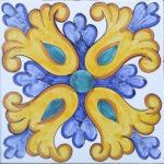 Piastrella Artigianale da 25 cm : PV01
