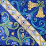 Piastrella Artigianale da 25 cm : PVR09