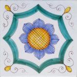 Piastrella Artigianale da 25 cm : PV05