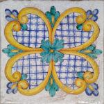 Piastrella Artigianale da 25 cm : PVR03