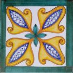 Piastrella Artigianale da 25 cm : PV04