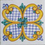 Piastrella Artigianale da 25 cm : PV03