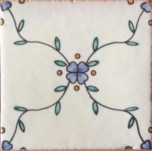 Ceramica di Cava Decori per Rivestimenti Vietresi