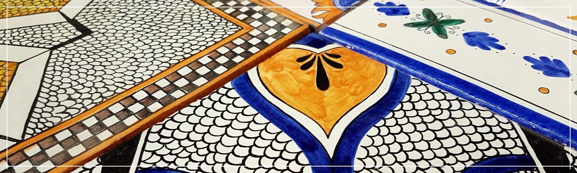 Piastrelle Decorate Vietresi Ceramica di Cava